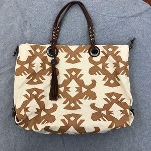 Boho style Lucky Brand large bag